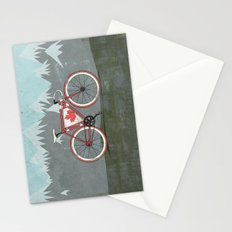Love Bike, Love Canada Stationery Cards