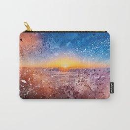 Acrylic San Francisco Sunrise Carry-All Pouch