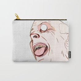 The Maniac With Wild Eyes Carry-All Pouch
