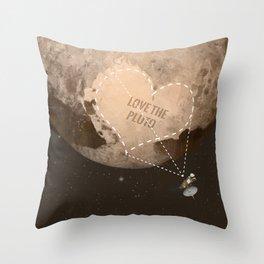 Love the Pluto Throw Pillow