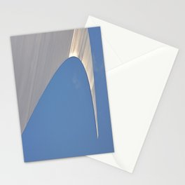 Found Art Deco Breaking Wave Stationery Cards