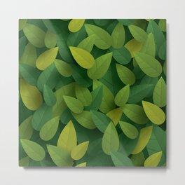 Leaves 004 Metal Print
