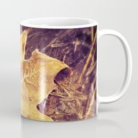 fitzgerald Mugs featuring Autumn Frost by Elke Meister