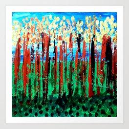 Spring Time Art Painting Art Print