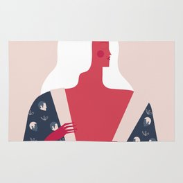 Red Lady Rug