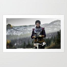 Cassandra Cosplay II Art Print