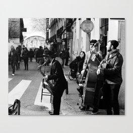 Spain Street Sax Canvas Print