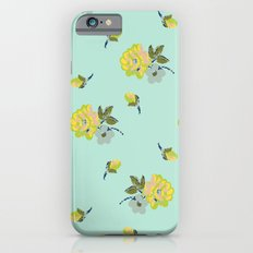 small vintage roses iPhone 6s Slim Case