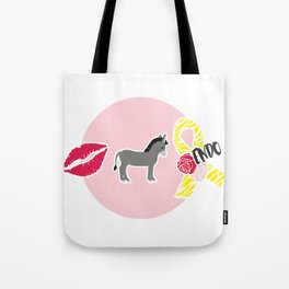 Kiss My Ass Endometriosis - Commissioned Work Tote Bag