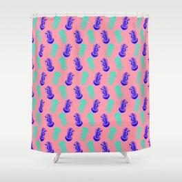 Jellyfish (pink) Shower Curtain
