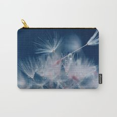Snow Dandelion Carry-All Pouch