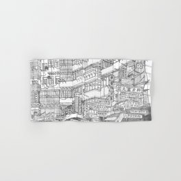 Hong Kong. Kowloon Walled City Hand & Bath Towel