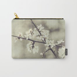 crossed blossoms Carry-All Pouch