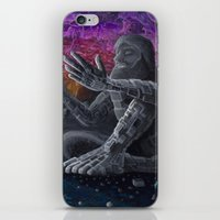 atlas iPhone & iPod Skins featuring Atlas by Drake Arnold Art