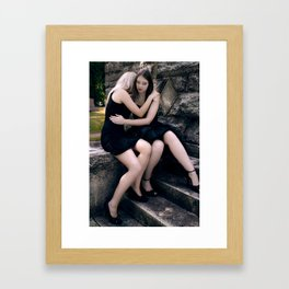 Hold me Framed Art Print