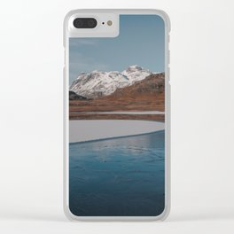 Frozen Blea Tarn Clear iPhone Case