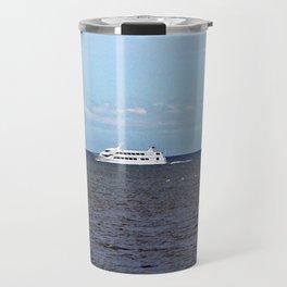 Yatch and Birds Racing Travel Mug