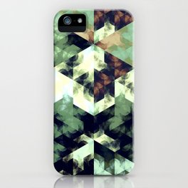 Green Hex iPhone Case