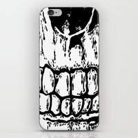 teeth iPhone & iPod Skins featuring Teeth by Mike Hague Prints