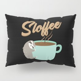 Sloffee | Coffee Sloth Pillow Sham