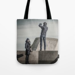 Different Interests Tote Bag