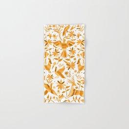 Mexican Otomí Design in Yellow Hand & Bath Towel