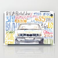 bmw iPad Cases featuring BMW e36 by dareba