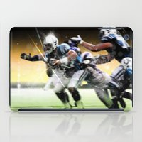 nfl iPad Cases featuring American Football by Gilles Rathé