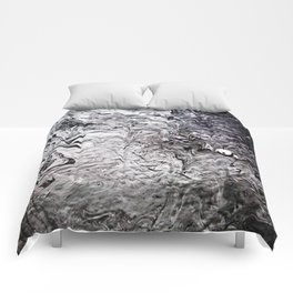 Black Lava III Comforters