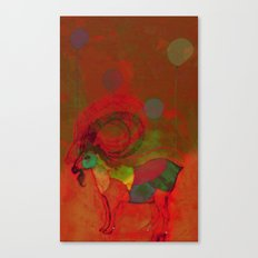 peaceful and happy Canvas Print