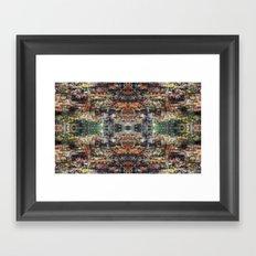 UNTITLED ⁜ ALIGNED #1519 Framed Art Print