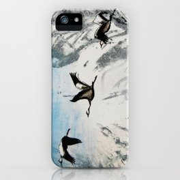 Let go II iPhone Case