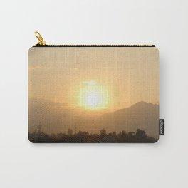 Sun Set Across Nagarjuna Carry-All Pouch