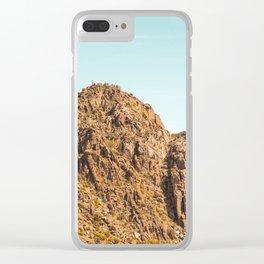 Landscape Joshua Tree 7338 Clear iPhone Case