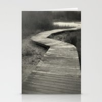 boardwalk empire Stationery Cards featuring Boardwalk by Curt Saunier