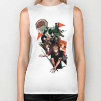 mortal instruments Biker Tanks featuring The Mortal Instruments by The Radioactive Peach