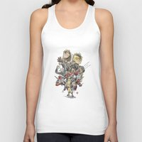 mortal instruments Tank Tops featuring Mortal Enemies by Fernando Cano Zapata