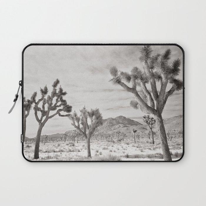 Joshua Tree Grey By CREYES Laptop Sleeve