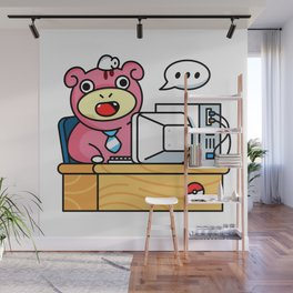 Monday Mood Office Wall Mural