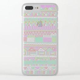 Bella Clear iPhone Case