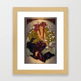 Angel Of Peace Framed Art Print