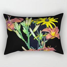 Summer Wildflowers Rectangular Pillow