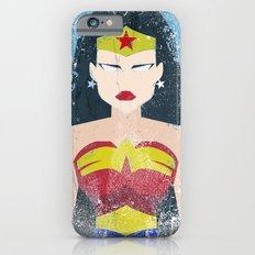 Wonder Grunge Woman iPhone 6 Slim Case