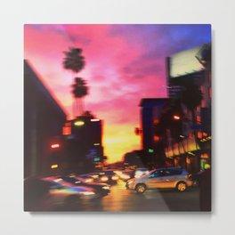 Sunset & Vine- Hollywood, CA Metal Print