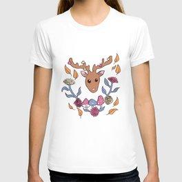 Deer nature T-shirt