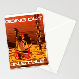 Going Out In Style Stationery Cards
