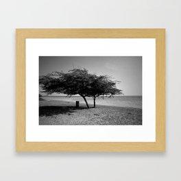 Standing together Framed Art Print