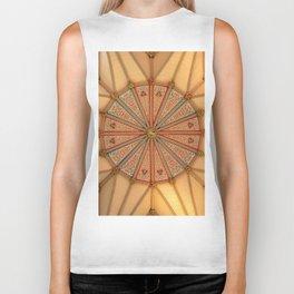 Architecture Mandala (Color) Biker Tank