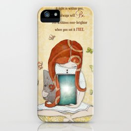 Light within you iPhone Case