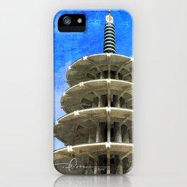 日本タウン、サンフランシスコ - Japantown Tower iPhone Case
